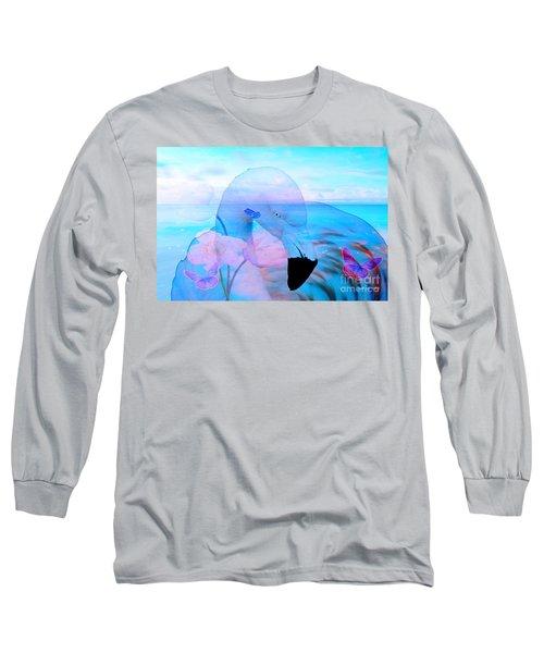 Beautiful Flamingo Long Sleeve T-Shirt