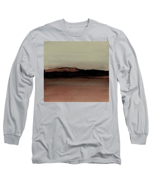 Between The Woods And Frozen Lake  Number 1133-10 Long Sleeve T-Shirt