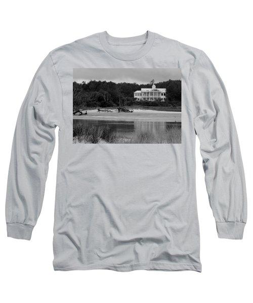 Big White House Long Sleeve T-Shirt by Cynthia Guinn