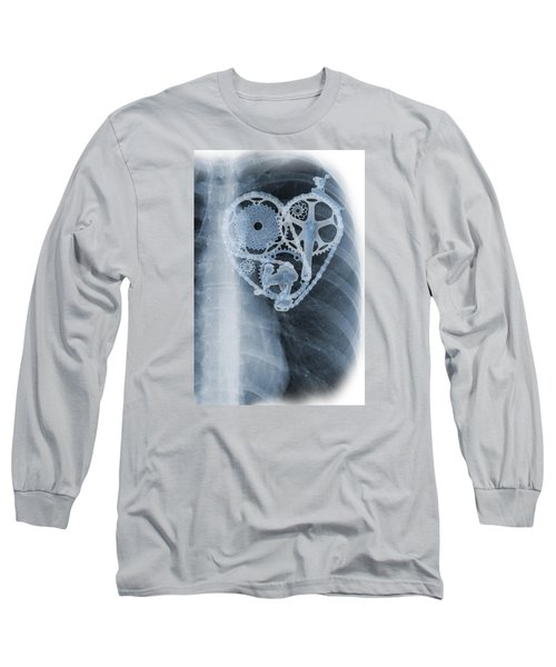 bike lover X-ray Long Sleeve T-Shirt