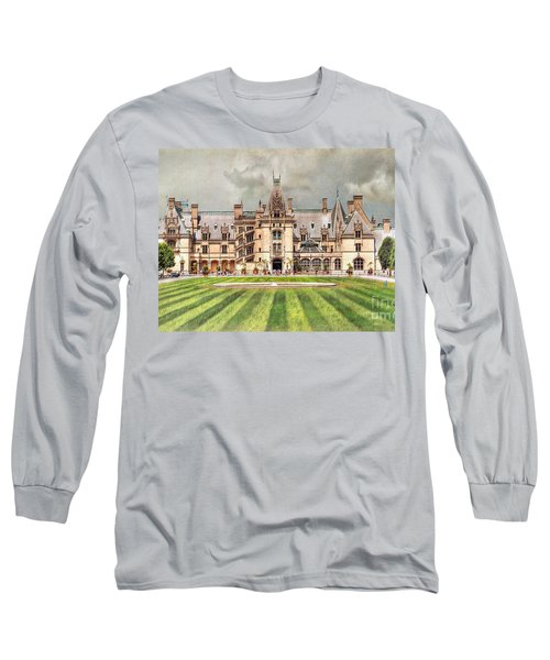Biltmore House Long Sleeve T-Shirt by Savannah Gibbs