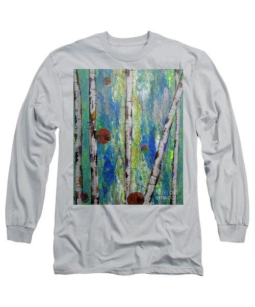Birch - Lt. Green 4 Long Sleeve T-Shirt