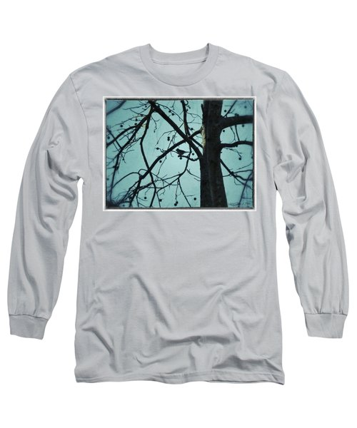 Long Sleeve T-Shirt featuring the photograph Bird In Tree by Tara Potts