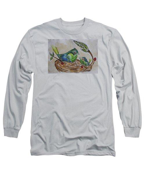 Bird Talk Long Sleeve T-Shirt