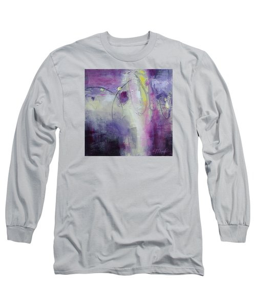 Bits Of Wisdom Long Sleeve T-Shirt by Tracy Male