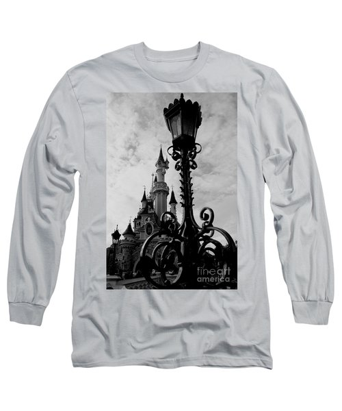 Black And White Fairy Tale Long Sleeve T-Shirt
