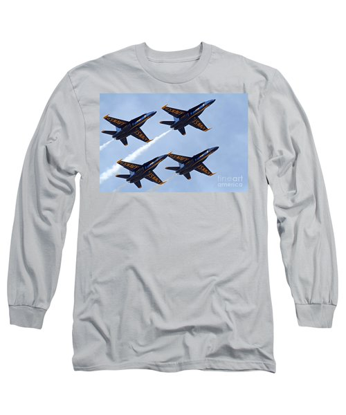 Blue Angels Over Colorado Long Sleeve T-Shirt