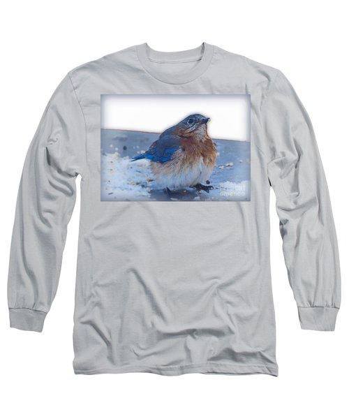 Blue Bird 4 Long Sleeve T-Shirt