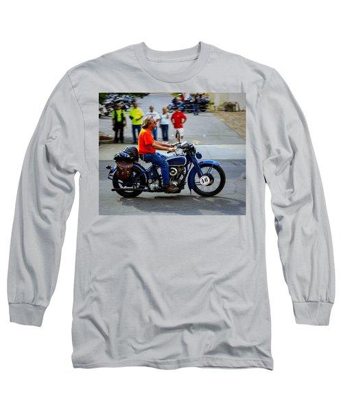 Blue Harley 46 Long Sleeve T-Shirt