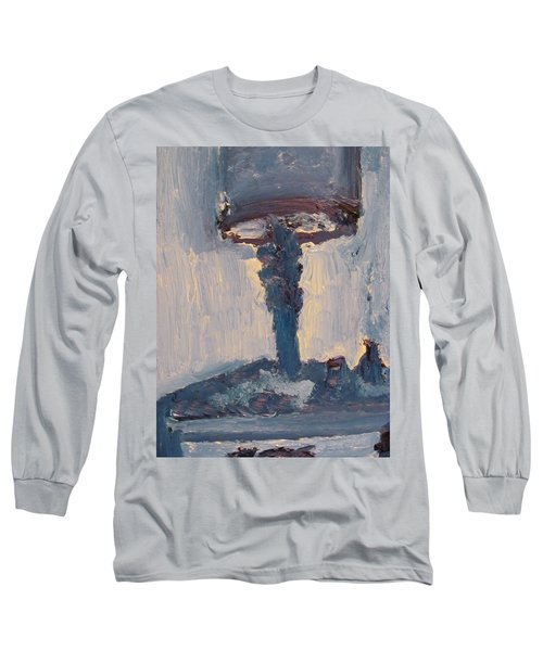Blue Lamp Long Sleeve T-Shirt