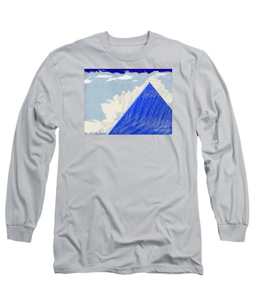 Long Sleeve T-Shirt featuring the photograph Blue Mountain by Tina M Wenger