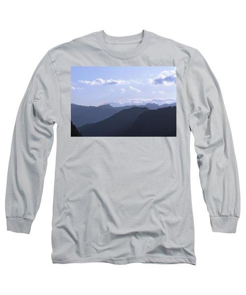 Blue Mountains Long Sleeve T-Shirt