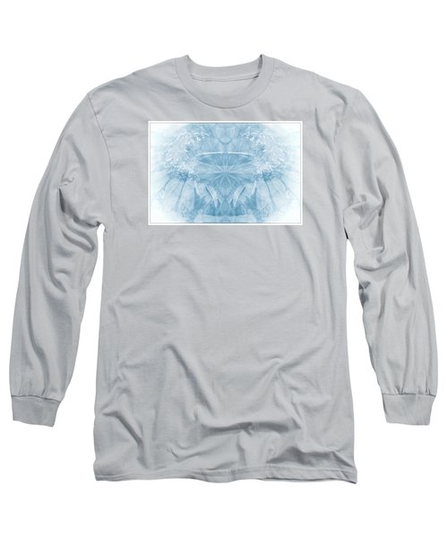 Long Sleeve T-Shirt featuring the photograph Blue Serinity by Geraldine DeBoer