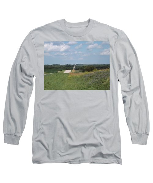 Blue Skies Long Sleeve T-Shirt by Caryl J Bohn