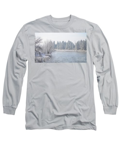 Blue Tint Long Sleeve T-Shirt