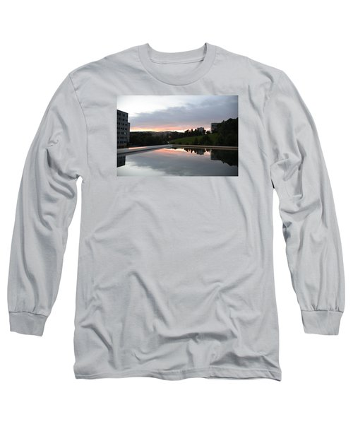 Long Sleeve T-Shirt featuring the photograph Blue Visions 2 by Teo SITCHET-KANDA