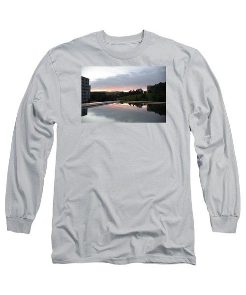 Blue Visions 2 Long Sleeve T-Shirt by Teo SITCHET-KANDA