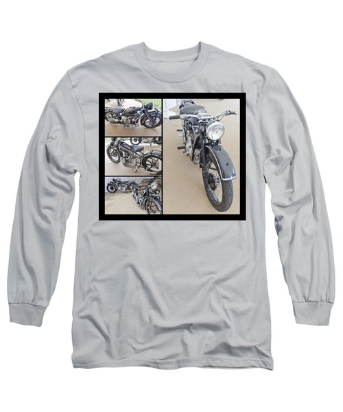 Bmw Art Deco Bikes Long Sleeve T-Shirt