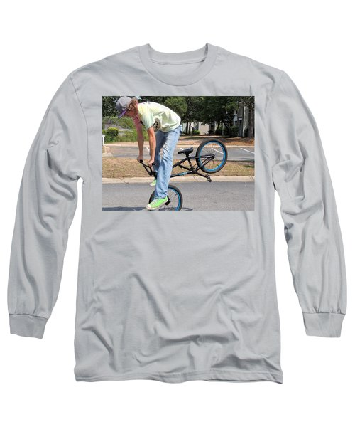 Bmx Rider Long Sleeve T-Shirt