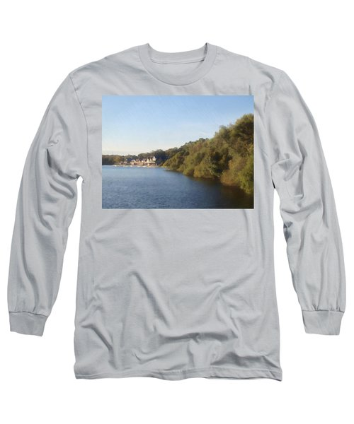 Boathouse Long Sleeve T-Shirt by Photographic Arts And Design Studio