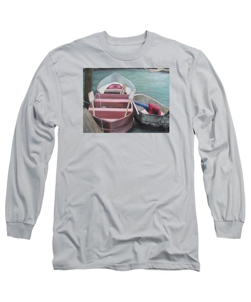 Boats Of The Lighthouse Long Sleeve T-Shirt
