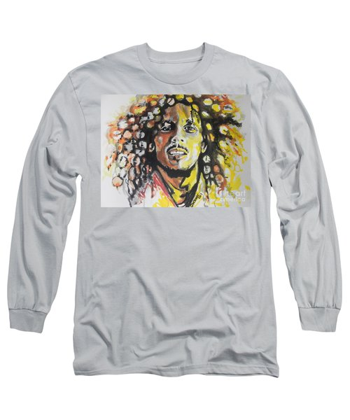 Bob Marley 02 Long Sleeve T-Shirt