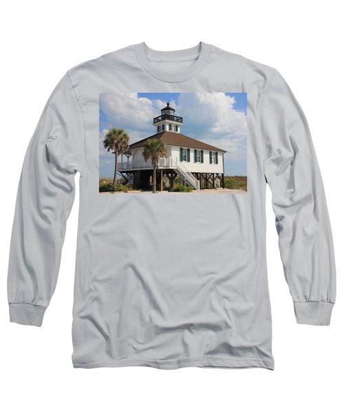 Boca Grande  Long Sleeve T-Shirt by Rosalie Scanlon