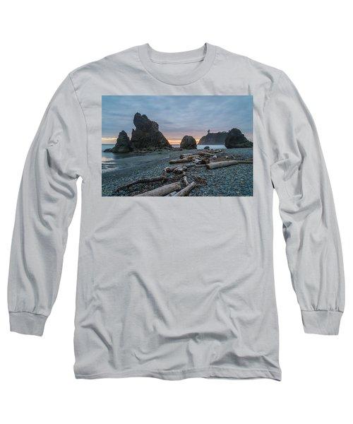 Bone Yard Long Sleeve T-Shirt by Kristopher Schoenleber