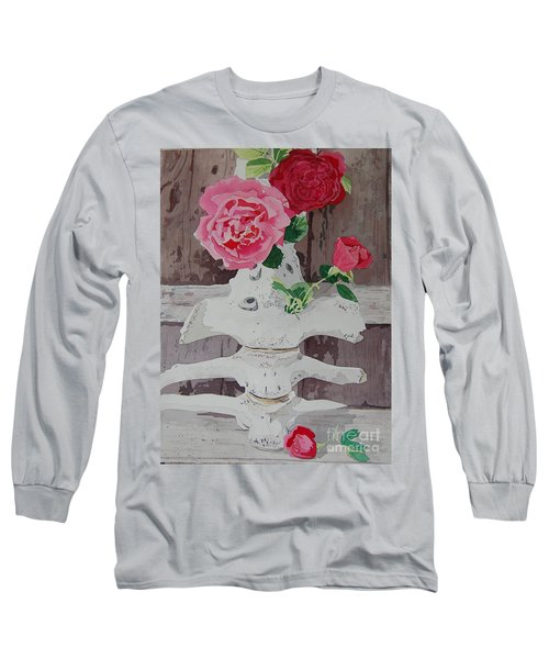 Bones And Roses Long Sleeve T-Shirt