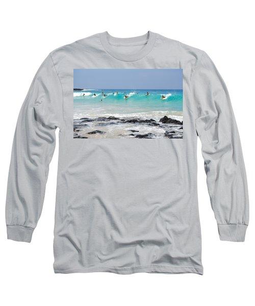Boogie Up Long Sleeve T-Shirt by Denise Bird