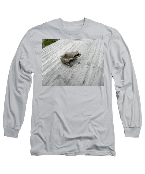 Botanical Gardens Tree Frog Long Sleeve T-Shirt