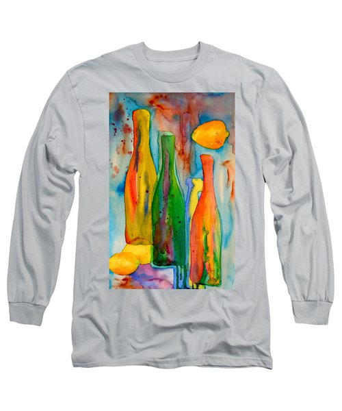 Bottles And Lemons Long Sleeve T-Shirt