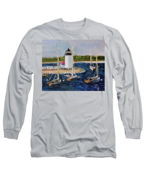 Brant Lighthouse Nantucket Long Sleeve T-Shirt