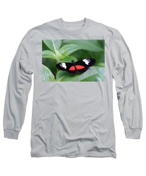 Breathtaking Contrast Long Sleeve T-Shirt by Denyse Duhaime