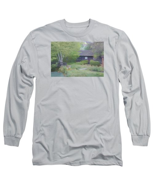 Bridge To Harmony Long Sleeve T-Shirt by Debra     Vatalaro