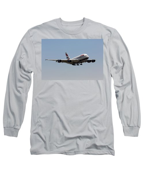 British Airways A380 Long Sleeve T-Shirt