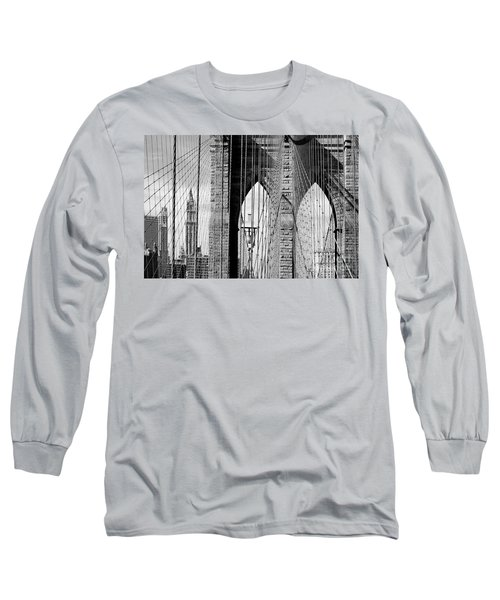 Brooklyn Bridge New York City Usa Long Sleeve T-Shirt