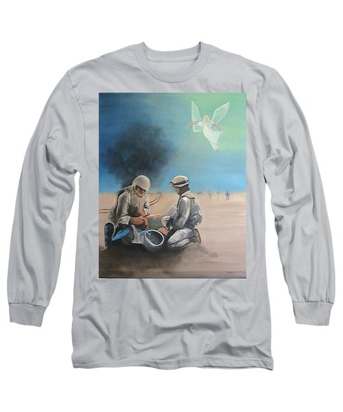 Brothers Long Sleeve T-Shirt by Catherine Swerediuk
