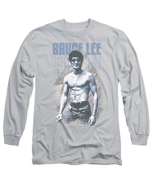 Bruce Lee - Blue Jean Lee Long Sleeve T-Shirt