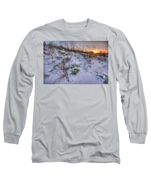 Long Sleeve T-Shirt featuring the digital art Buried Fences by Michael Thomas
