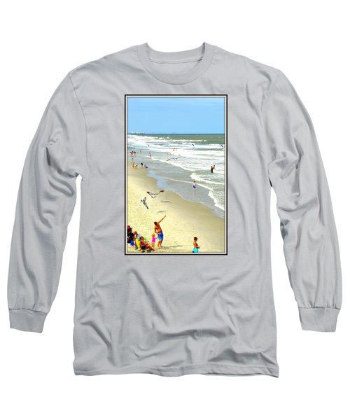 But Daddy Why Cant I Feed The Birds Long Sleeve T-Shirt