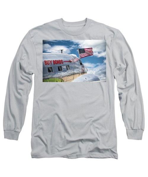 Long Sleeve T-Shirt featuring the photograph Buy Bonds by Steven Bateson