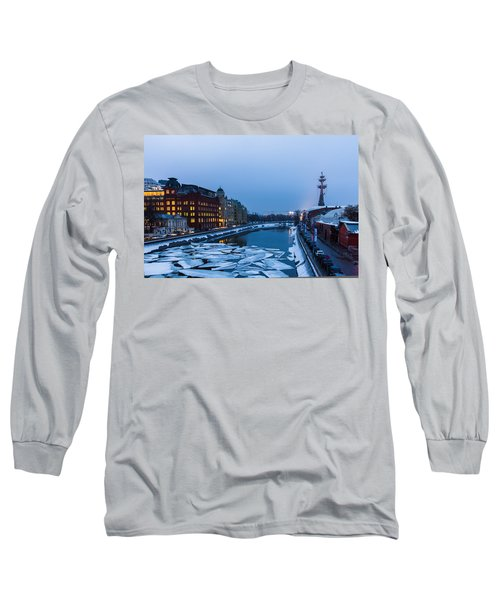 Bypass Canal Of Moscow River - Featured 3 Long Sleeve T-Shirt