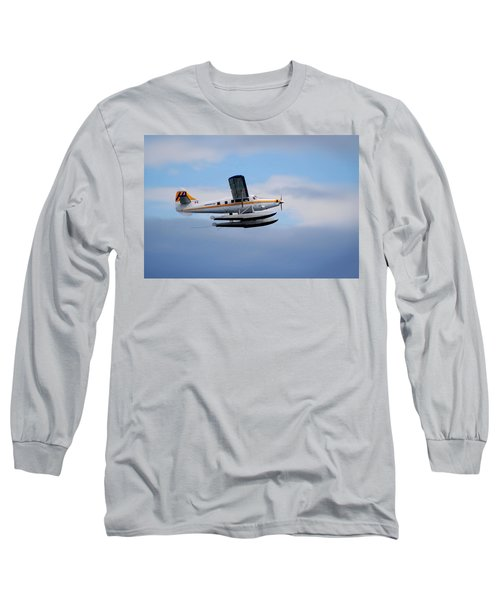 Long Sleeve T-Shirt featuring the photograph C-frno by Mark Alan Perry