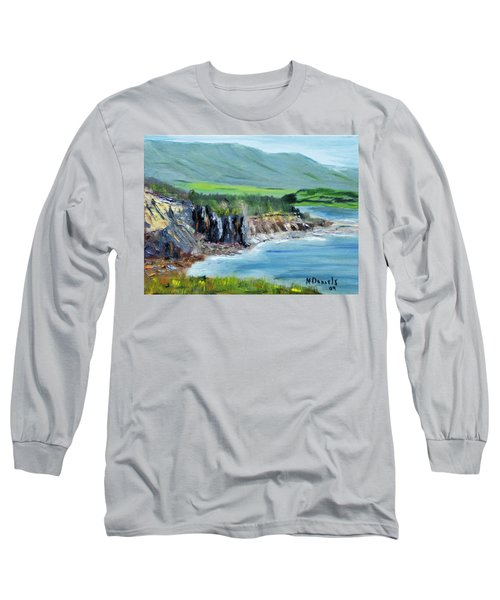 Cabot Trail Coastline Long Sleeve T-Shirt