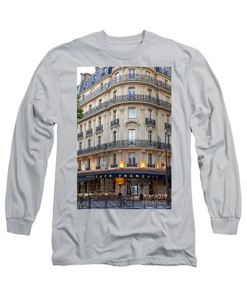 Cafe Francais Long Sleeve T-Shirt