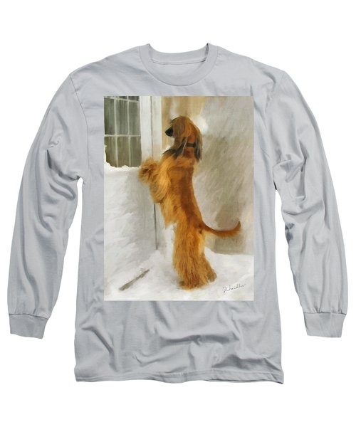 Can I Come In Now? Long Sleeve T-Shirt