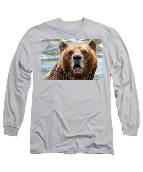 Canadian Grizzly Long Sleeve T-Shirt