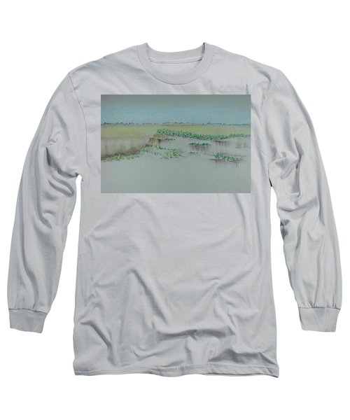 Long Sleeve T-Shirt featuring the pastel Canyon View by Michele Myers