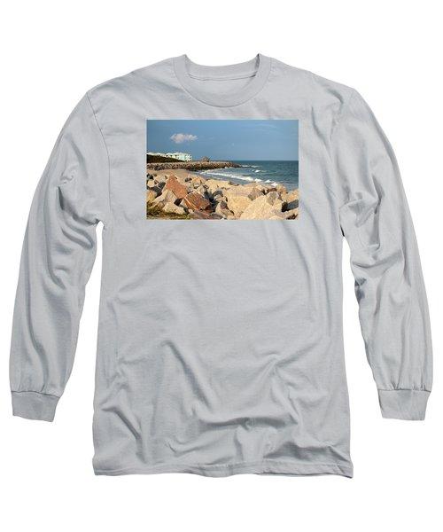 Long Sleeve T-Shirt featuring the photograph Carolina Coast by Cynthia Guinn